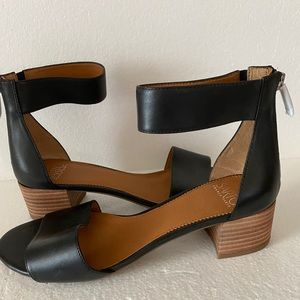 Franco Sarto Block Heel Sandals Never Worn